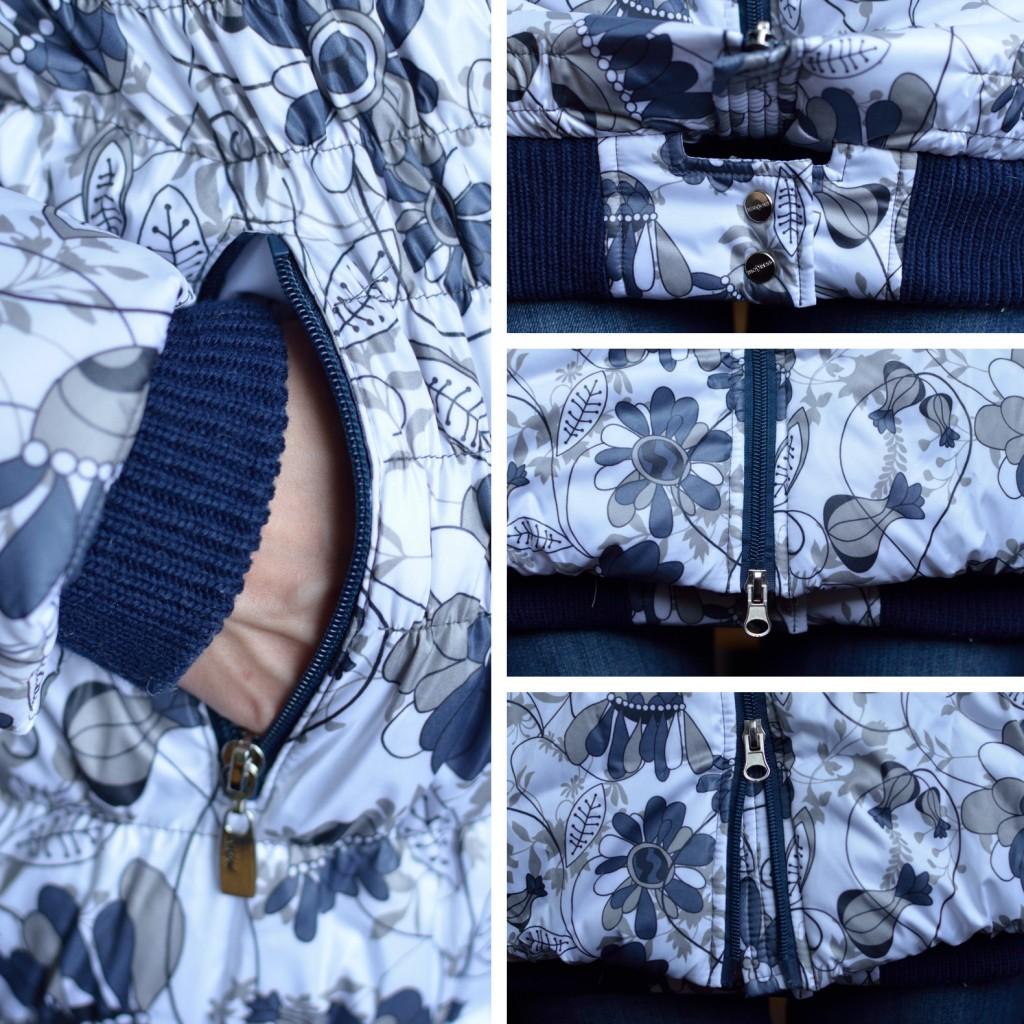 Куртка Александра для беременных, отделка из трикотажа