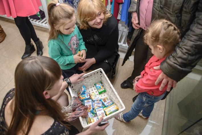 Открытие магазина для беременных Puziki.by