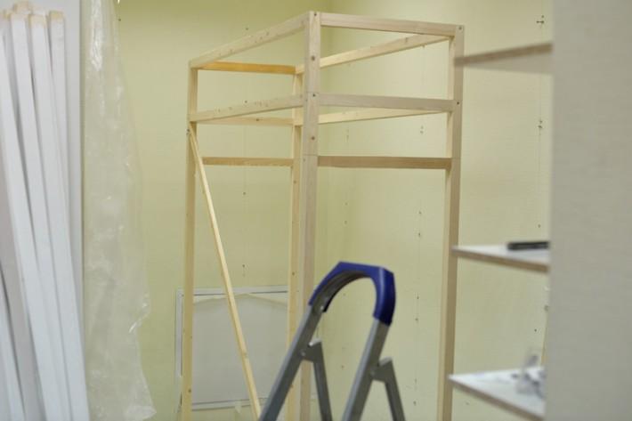 Мебель для магазина будущих мам Puziki.by